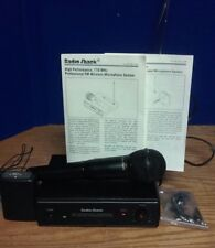 Radio Shack Wireless Microphone 32-1229 With Transmitter