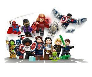 LEGO 71031 Disney MARVEL Studios Minifgure Series Complete Full Set of 12 LOOOK!