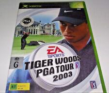 Tiger Woods PGA 2003 XBOX Original PAL *Complete*