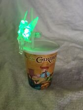 Disneyland Pirates Of The Caribbean Kids Souvenir Cup With Light Up Tinkerbell