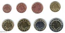 Belgium (mixed Dates) - Set of 8 Euro Coins (UNC) **RARE**