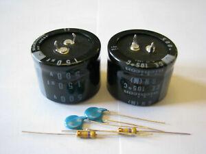 Yaesu FL-2100B HF Amplifier 150uf/500V HV Power Supply Filter Capacitors