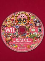 Kirby's Dream Collection Special Edition (Nintendo Wii) Disc  Only Resurfaced