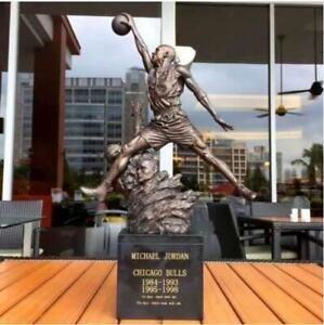 In Stock Michael Jordan Flyer 23 Jordan dunks Imitation copper Resin Statue