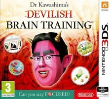 Dr Kawashima's Devilish Brain Training Nintendo 2DS & 3DS * NEW SEALED PAL *