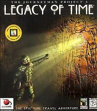The Journeyman Project 3: Legacy of Time - PC Game 1998 Complete 4 Discs Manual