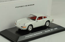 1965 Porsche 911 901 weiss / rot  Museum 1:43 Welly MAP