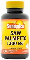 Sundance Vitamins Saw Palmetto 1200 mg 100 ea (Pack of 2)