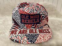 OLE MISS REBELS University of Mississippi RARE PROMOTIONAL HAT CAP Adjustable
