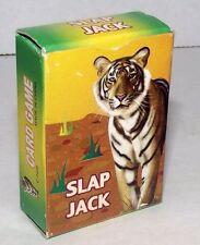 Miniature Slap Jack Card Game Vintage Tiger Sports Crisp Children Decor Playing