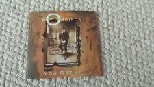 "ROY ORBISON 3"" CD SINGLE YOU GOT IT , THE ONLY ONE AND CRYING"