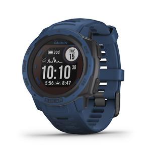 Garmin Instinct Solar Premium GPS Smartwatch Tidal Blue