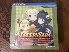 Sorcery Saga: Curse of the Great Curry God Limited Edition (PS VITA) New Sealed
