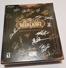 2004 Vanilla World of Warcraft Collectors Edition Autographed GAME CODE INCLUDED
