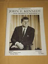 VINTAGE  1963 JOHN F KENNEDY JFK ASSASSINATION FUNERAL BOOKLET
