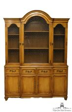 RWAY FURNITURE Country French 60″ Secretary Bookcase China Cabinet 13-4331
