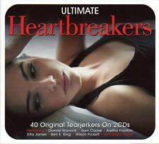 ULTIMATE HEARTBREAKERS - 40 TEARJERKERS - VARIOUS ARTISTS (NEW SEALED 2CD)