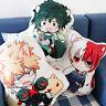 My Hero Academia Plush Pillow Cushion Toy Todoroki Shoto Izuku Midoriya Katsuki