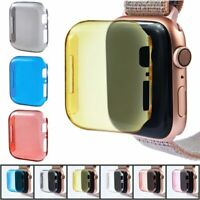 Watch Frame Bumper Case Screen Protector Cover For iWatch Series 4 40/44mm