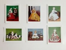 Antique Doll Notecards Yesteryears Museum Sandwich MA Set 6 NOS