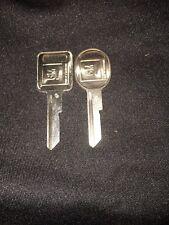 NOS GM OEM key blanks Set C D
