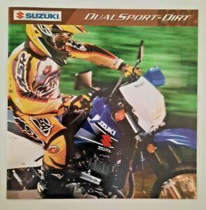 Vintage Brochure Dealer 2002 Suzuki Dual Sport DR650SE DR-Z400S DR200SE DR-Z250