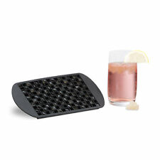 Eiswürfelform Silikon 1 cm Eiswürfelbehälter Eiswürfel Form Silikonform schwarz