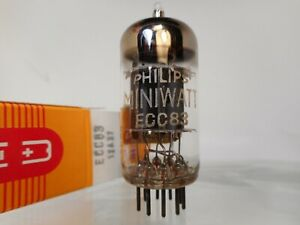 1959 PHILIPS MINIWATT ECC83 12AX7 Code I60 Z9C