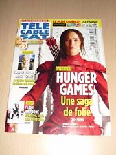 TÉLÉ CÂBLE SAT N°1331 novembre 2015 Hunger Games Jennifer Lawrence