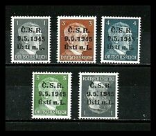 Usti nad Labem 1945. Tschechien. lokal. of. Deutschland.Germany  1-3-4-5+