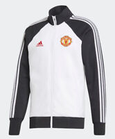 Adidas 2020-21 Manchester United Icons Top Men's Medium Track Jacket NWTs $90