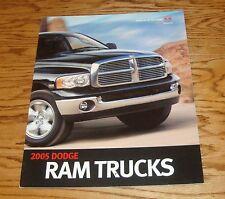 Original 2005 Dodge Ram Truck Deluxe Sales Brochure 05 SRT-10 1500 2500 3500