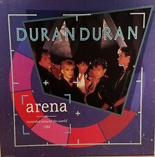 DURAN DURAN 'Arena' Promo Album Flat Suitable for framing Mint  1984