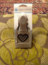 Martha Stewart LACE SCALLOP HEART craft punch