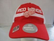 Detroit red Wings Reebok Center Ice Player Mesh Back Flex Band Hat/Cap L/XL NEW