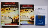 Amiga ARNHEM The Market Garden Operation - Strategy Tactics Game CCS 1991 TESTED