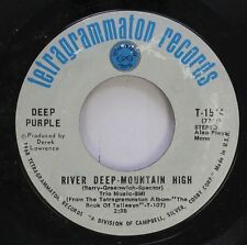 Rock 45 Deep Purple - River Deep-Mountain High / Listen, Learn, Read On On Tetra