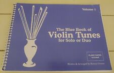 The Blue Book Of Violin Tunes For Solo Or Duo Volume 1