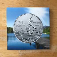Canada 2014 $20 For $20 Silver Coin Summer Time Certificate - COA Only-No Coin