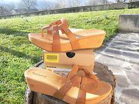 NUOVO Timberland 62684 Sabana n.41 scarpe sandali infradito donna