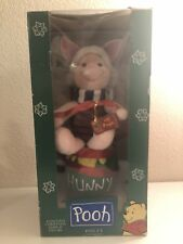 """WINNIE THE POOH ANIMATED CHRISTMAS DISPLAY """"PIGLET"""" TELCO MOTION-ETTE"""