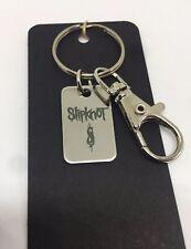 More details for slipknot - logo keyring •metal band • gift idea • on black gift card