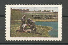 Germany/Stuttgart 1913 Pfadfinder (Boy Scouts) Exhibition stamp (First Aid)