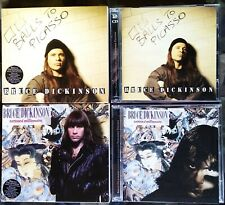 BRUCE DICKINSON TATTOED MILLIONAIRE 2 CD BALLS TO PICASSO 2 CD 2005 IRON MAIDEN