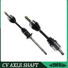 2 New Front CV Axles Left Right With Warranty Fit 2007-2008 Nissan Maxima
