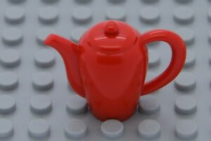 NEW LEGO MINIFIGURE ACCESSORY -  Belville  Friends RED TEAPOT