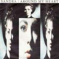 """Sandra - Around My Heart (7"""", Single) Vinyl Schallplatte 12931"""