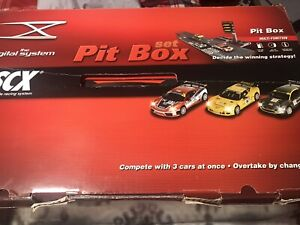 SCX Digital System Nascar The Pit Box Set Is Complete. Wow Wow