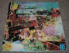 Xenakis Akrata Krzysztof Penderecki Capriccio For Violin & Orchestra Foss