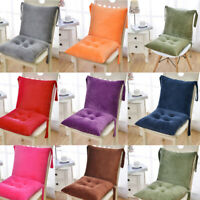 High Back Chair Cushion Indoor Patio Thick Seat Pad Cushions Office Backrest Mat